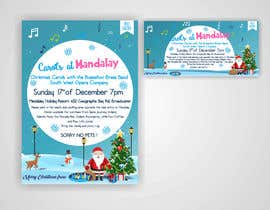 istykristanto tarafından Design 2x Flyers for Christmas Carols at Mandalay için no 35