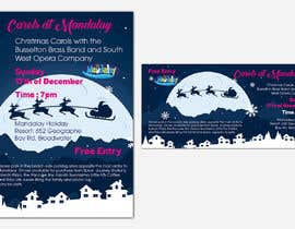 Inadvertise tarafından Design 2x Flyers for Christmas Carols at Mandalay için no 44