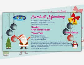 Inadvertise tarafından Design 2x Flyers for Christmas Carols at Mandalay için no 46