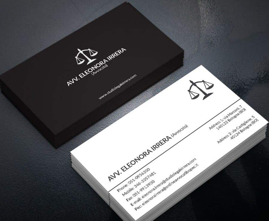 Entry 200 by pranadibroy for design business cards for lawyer business card colourmoves