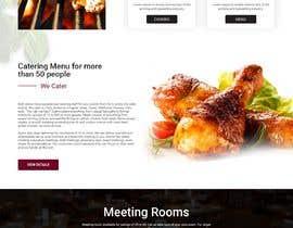 #43 for Design a Website Mockup for BBQ Restaurant by webmastersud