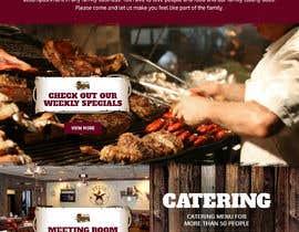#42 for Design a Website Mockup for BBQ Restaurant by pixelwebplanet