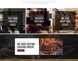 #36 for Design a Website Mockup for BBQ Restaurant by wabdesigner