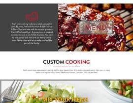 #39 for Design a Website Mockup for BBQ Restaurant by Orko30