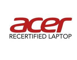 """#4 for Create a logo that says """"Acer Recertified Laptops"""" by Tidar1987"""