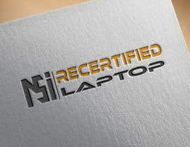 """#13 for Create a logo that says """"MSI Recertified Laptops"""" by jobayerahmmadjob"""