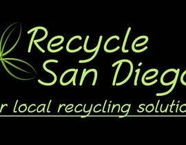 "#6 para A new logo design for ""Recycle San Diego"" por zeljkoerste"