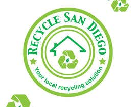 "#10 para A new logo design for ""Recycle San Diego"" por psycho119"