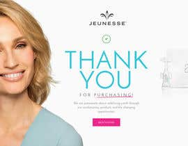 #39 for Design a Thank-You Page Mockup by wabdesigner