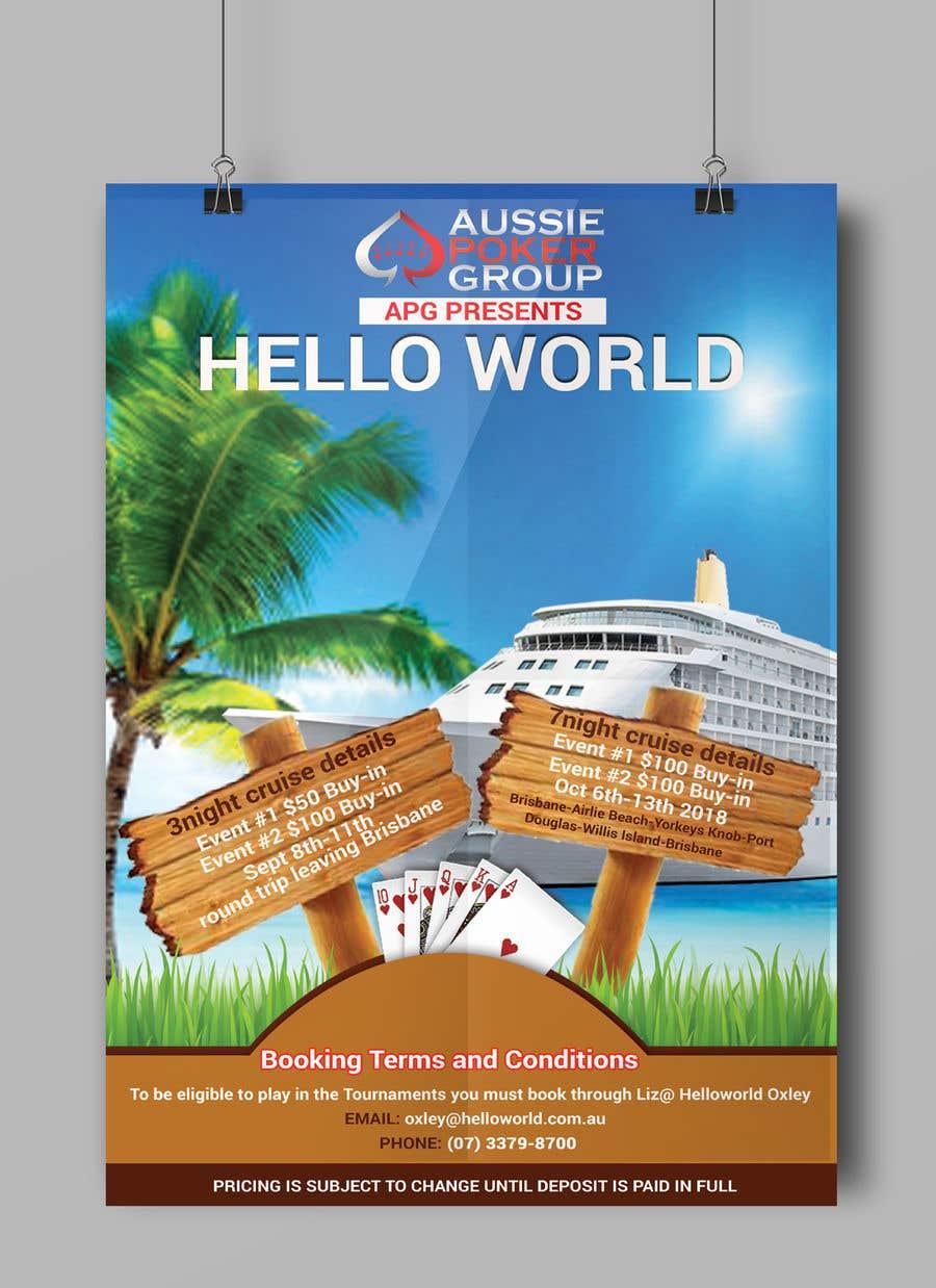 Bài tham dự cuộc thi #30 cho poker cruise