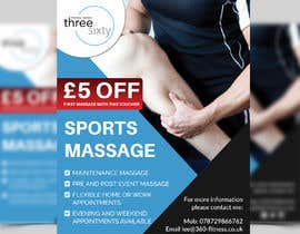 #113 cho Sports massage flyer bởi Mosharfkaptai
