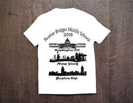 #54 for Design a t-shirt for Washington DC, New York & Boston Trip af saikatmian
