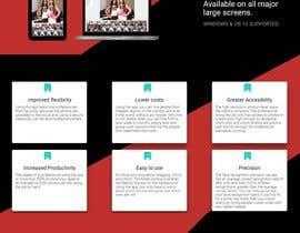 Nro 19 kilpailuun One-page website käyttäjältä andreimarianWeb