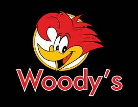 #36 untuk Re-Design a Logo for Woody's Tree Service - Infamous Woody Woodpecker oleh Kriwil10