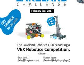 rt19 tarafından Design and Create a poster for our Robotics Competition için no 87