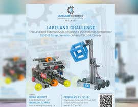 Elly21 tarafından Design and Create a poster for our Robotics Competition için no 21