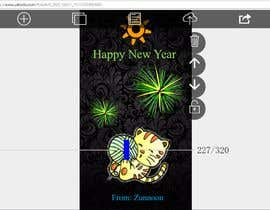 #6 for Create animated greeting card and provide suggestions af zunnoon01