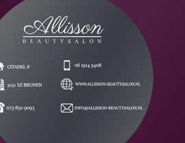 #8 for Design a Business Card for a beautysalon af fb5a11c44ac5bed