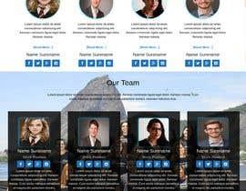 #4 for Design Responsive frontend webpage | AngularJs | 30 pages af klerindtervoli2