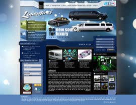 nº 28 pour Website Design for Limousine Service Inc. par vigneshsmart