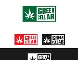 nº 98 pour The Green Cellar (Cannabis Dispensary) par Plastmass