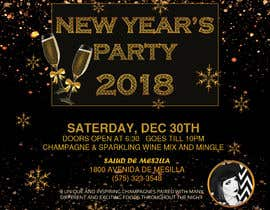 #63 for Need a flyer for a Dec 30th new year themed party by ferhanazakia