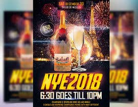 #61 for Need a flyer for a Dec 30th new year themed party by PixelPalace