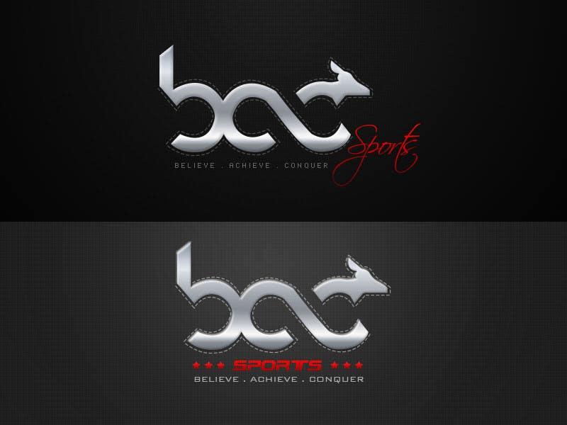 Proposition n°334 du concours Logo Design for BAC Sports