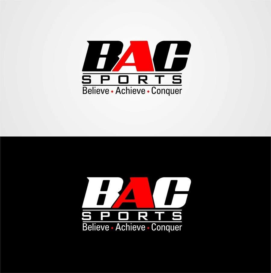 Proposition n°                                        177                                      du concours                                         Logo Design for BAC Sports