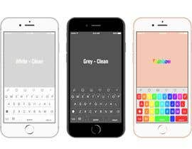 #12 para UI / graphic Design of a theme for an iOS keyboard de andrewyu