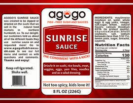 #60 cho Design a label for condiment/dressing bottle bởi dsignfactorybd