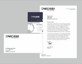#42 untuk Stationery Design for ONECASH LIMITED oleh F5DesignStudio