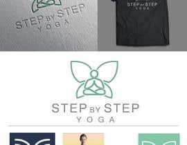 #436 untuk Stylized butterfly logo for a yoga teacher oleh nendo09