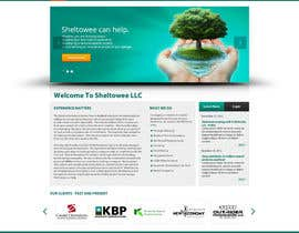 #42 untuk Website Design for Sheltowee LLC a technology investment company oleh firethreedesigns