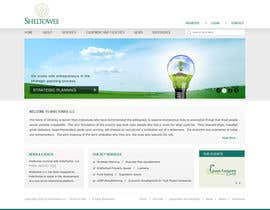 #14 untuk Website Design for Sheltowee LLC a technology investment company oleh Pavithranmm