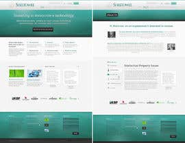 #77 untuk Website Design for Sheltowee LLC a technology investment company oleh andrewnickell