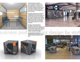 #19 cho Illustration Design for Business Pod design- self contained business office in business cafes bởi stoth