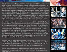 #7 for Design a DJ Biography Page. by gnalini01
