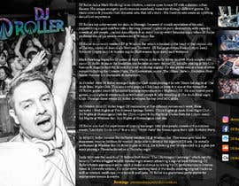 #16 for Design a DJ Biography Page. by gnalini01
