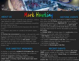 #2 for Design a DJ Biography Page. by siris90