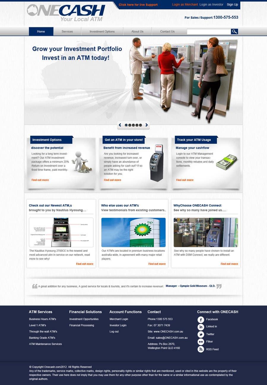 Konkurrenceindlæg #4 for Website Design for ONECASH LIMITED (ONE CASH)