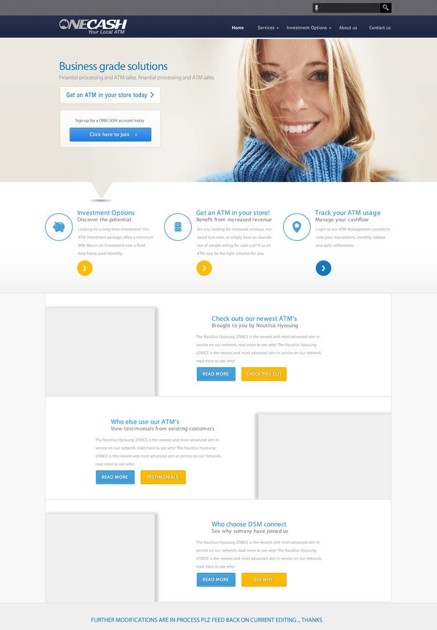 Konkurrenceindlæg #15 for Website Design for ONECASH LIMITED (ONE CASH)