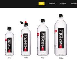 nº 26 pour Website Design for Classy/Sporty Water Bottle Design par marufuzzamanmir