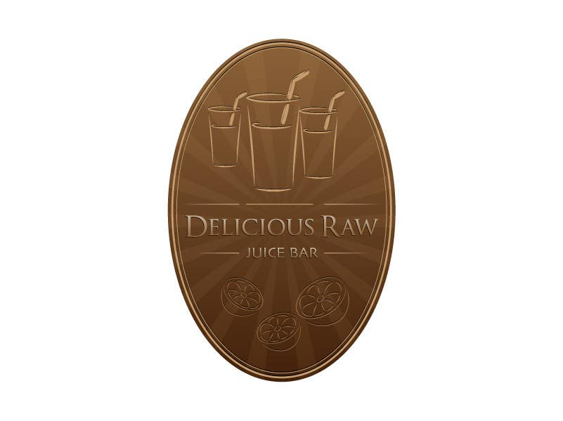 Proposition n°                                        9                                      du concours                                         Logo Design for Delicious Raw