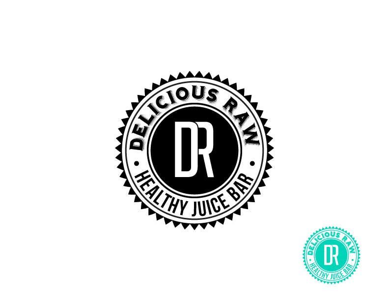 Penyertaan Peraduan #                                        4                                      untuk                                         Logo Design for Delicious Raw