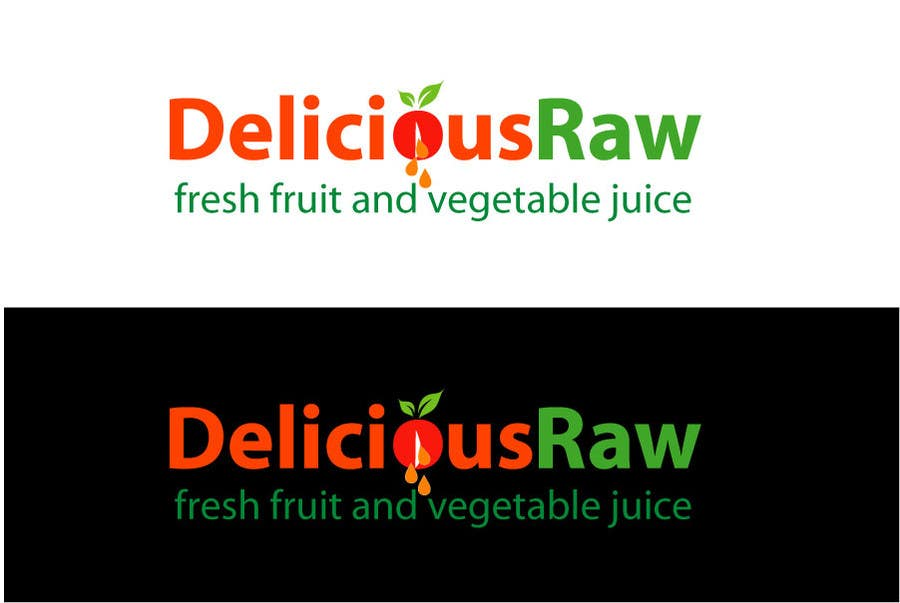 Proposition n°                                        42                                      du concours                                         Logo Design for Delicious Raw