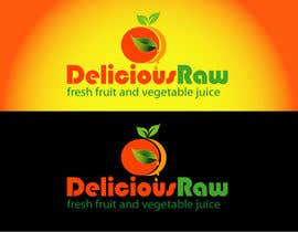 #45 for Logo Design for Delicious Raw af woow7