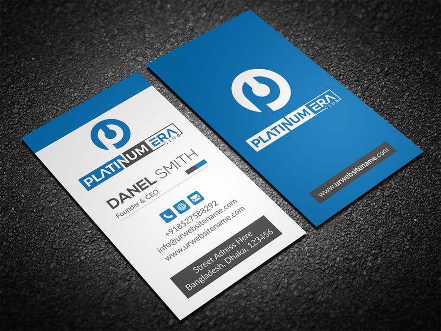 Entry #142 by iqbalsujan500 for Design Business Card for Platinum ...