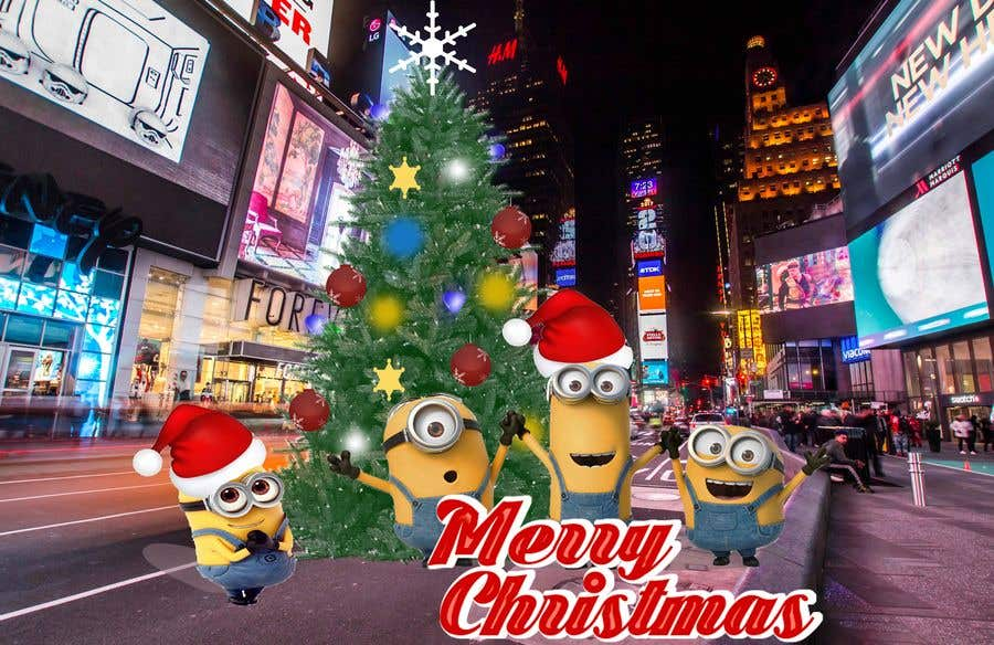 contest entry 4 for minions christmas