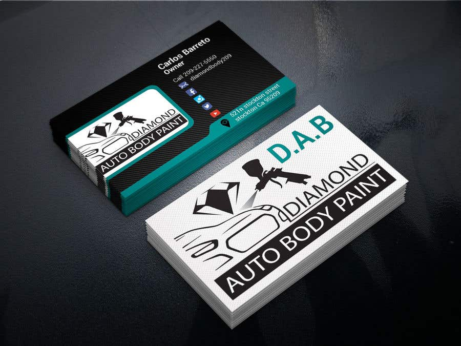 Entry #30 by cafy for logo/business card for Automotive body/ paint ...